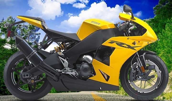 Erik Buell Racing Motorcycle