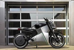 FUELL Flow electric motorcycle - right side