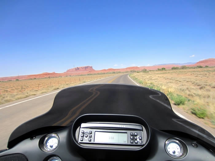 Four Corners by Motorcycle