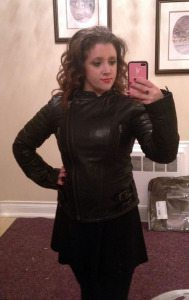 Gabby_DB in a NEXO Fly Angel Ladies Motorcycle Jacket