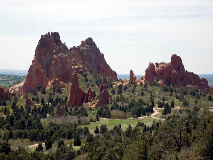 Garden of the Gods - Colorado Motorcycle Ride