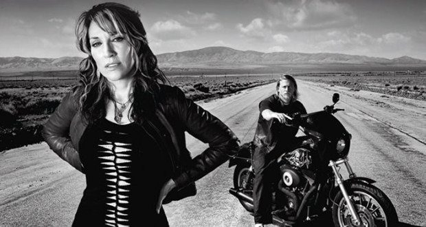 Gemma and Jax Teller Sons of Anarchy Season 7