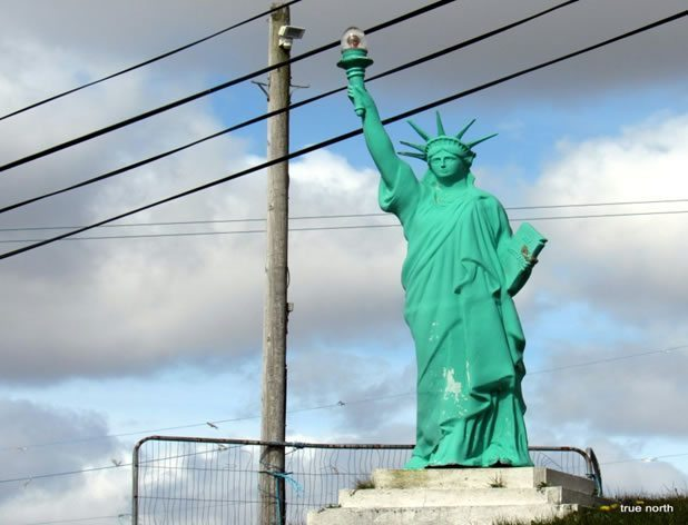 Gweebarra's own Statue of Liberty