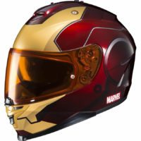 HJC IS-17 Iron Man Helmet