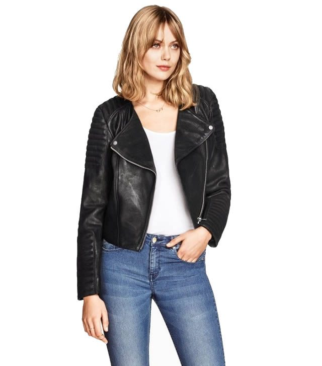 H&M Leather Biker Jacket