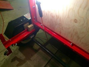 Harbor Freight 2x4 Support