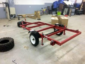 Harbor Freight Folding Trailer Build Tips
