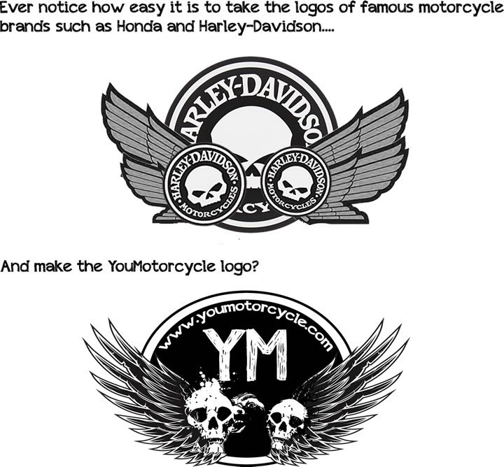History Of Skulls Wings And Motorcycling Youmotorcycle