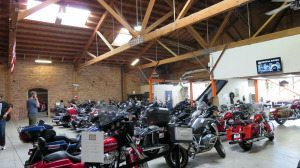 Harley-Davidson Motorcycles for Rent in San Francisco at Easy Rider Motorcycle Rentals