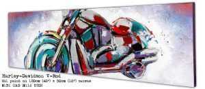 Harley-Davidson V-Rod Cheap Motorcycle Paintings