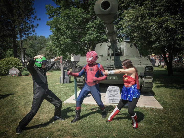 Heroes and Villains In Wallaceburg