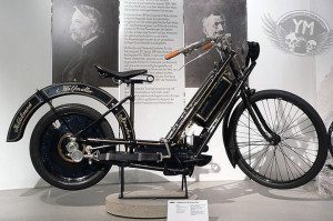 Hildebrand and Wolfmuller Motorcycle
