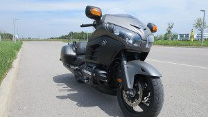 Honda Gold Wing F6B Review - Front