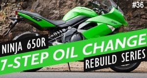 How To - Kawasaki Ninja 650R Oil Change