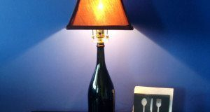 How to Build a Champagne Bottle Lamp