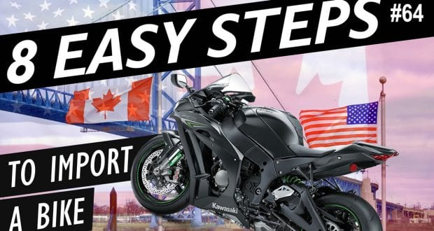 How to Import a Motorcycle from the USA to Canada