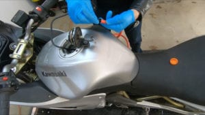 How to Siphon a Motorcycle Gas Tank