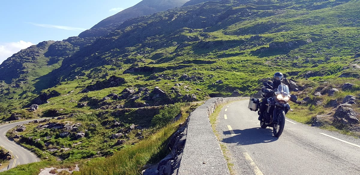 The Gap of Dunloe offers some of the finest riding anywhere in the world. If you like single lane roads, that is (and who doesn't).