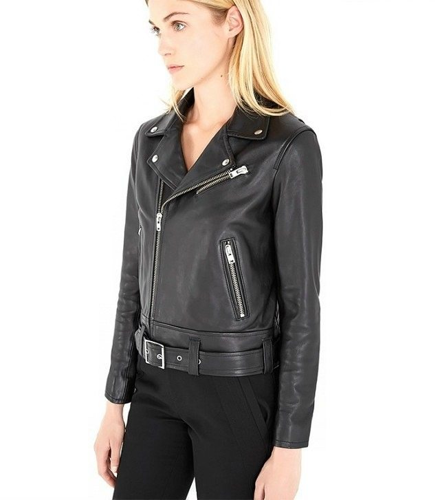Iro Gant Leather Jacket