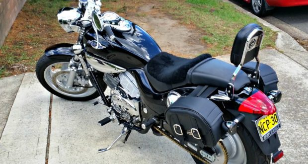 KYMCO Venox Saddlebags and Sprocket Upgrade