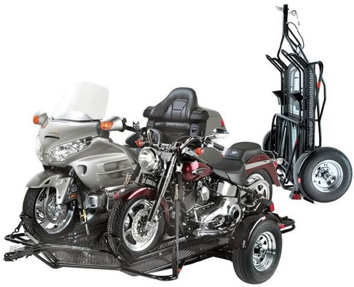 Kendon Stand-Up -Dual Motorcycle Trailer