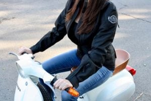 Ladies Motorcycle Jacket Review - Side