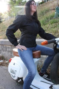 Ladies motorcycle jacket review