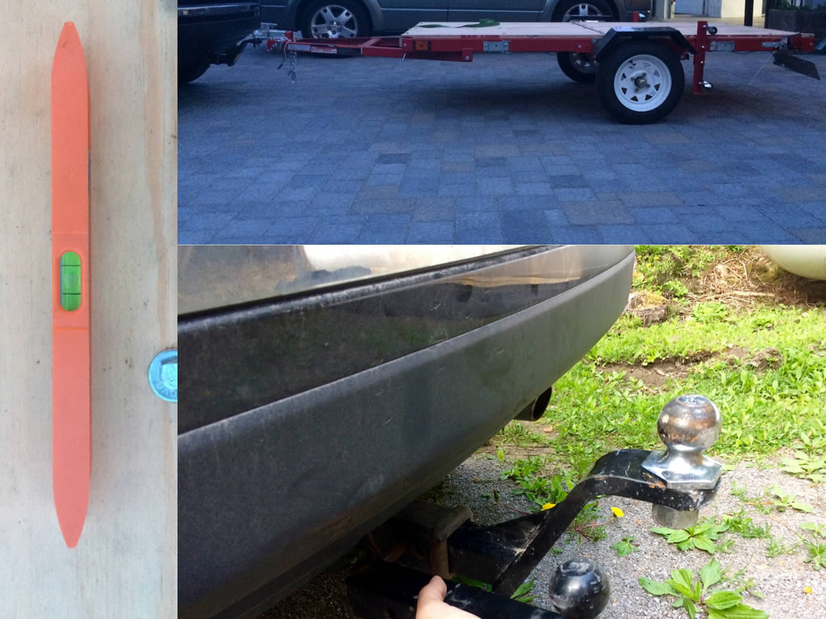 Harbor Freight Folding Trailer Tips & Tricks - Part 2 | Towing ...