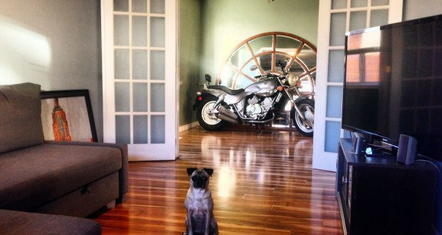 YouMotorcycle HQ Living Room