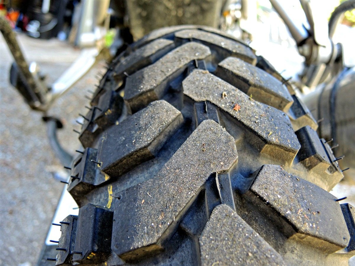 Mitas E-07 Dakar Review - Rear Tire