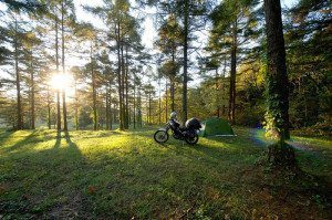 Motorcycle Campsite