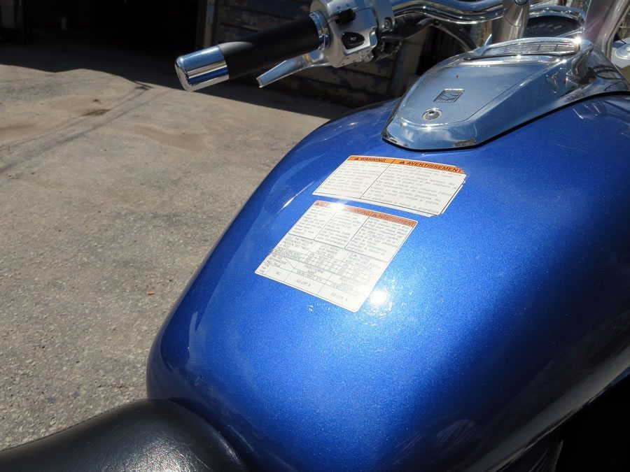 Motorcycle Gas Tank Stickers