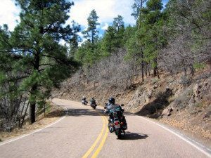 Motorcycle Group Ride Leading