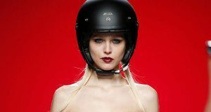 Motorcycle Helmets on the Runway