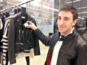 Motorcycle jacket shopping