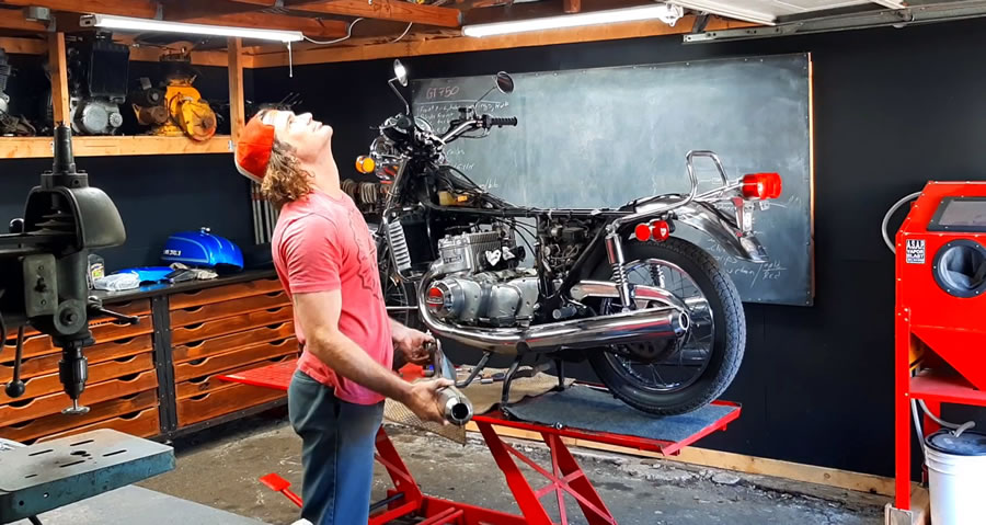 Motorcycle Restoration Tips - Fixing problems