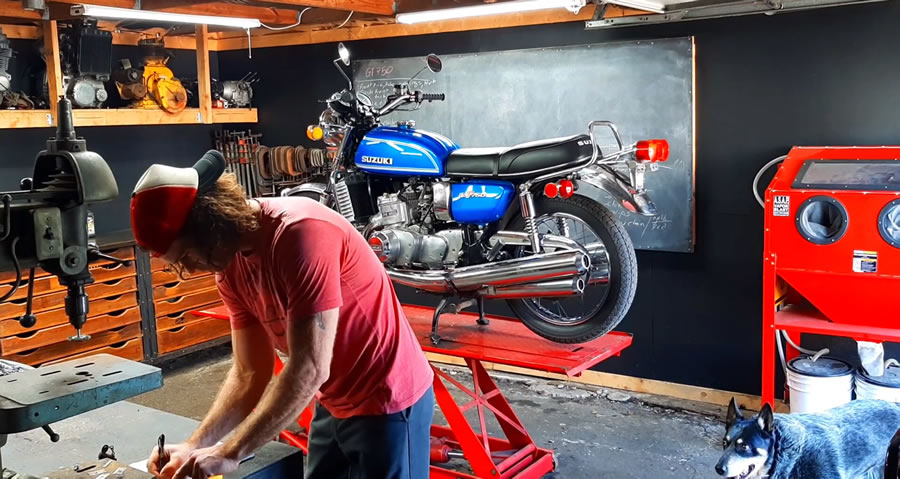 Motorcycle Restoration Tips - When you first buy it