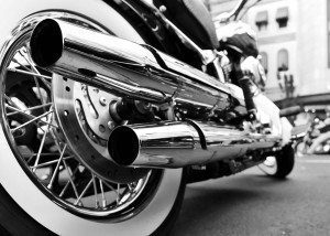 Motorcycle Tires and Exhaust