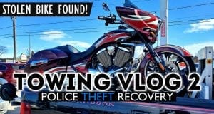 Motorcycle Towing Vlog 2