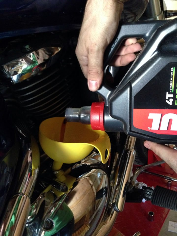 Motul 5100 Oil Change
