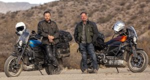 New McGregor-Boorman Long Way Series on Electric Harleys