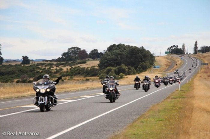 New Zealand's first Indian Motorcycle Rally
