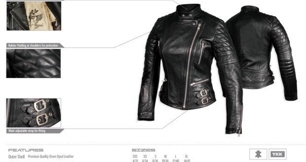 Nexo Fly Angel Women Motorcycle Jacket