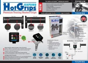 Oxford heated motorcycle grips