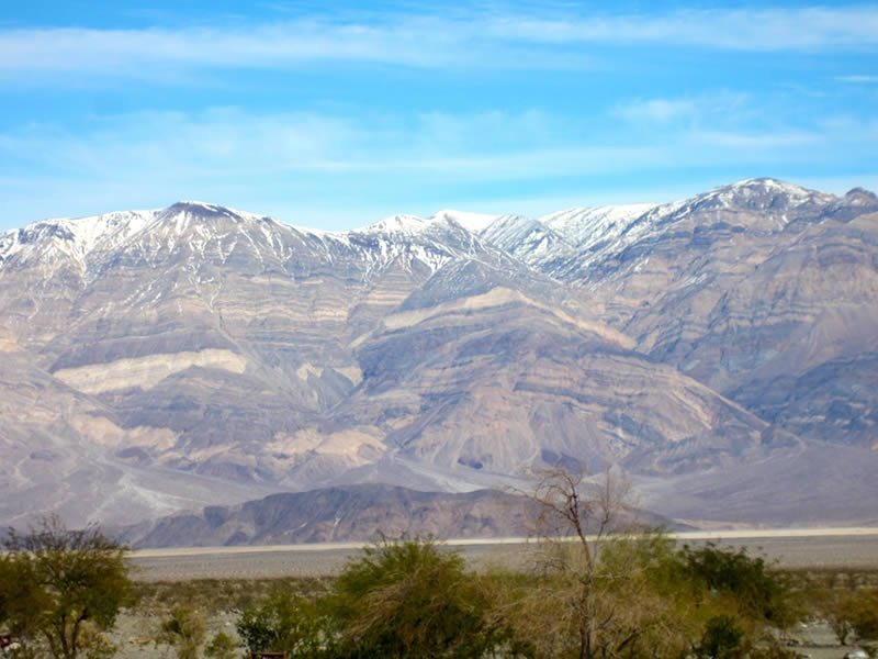 Panamint Range from Panamint Springs Motorcycle Ride