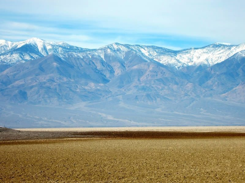 Panamint Range of the Badwater Mineral Flats