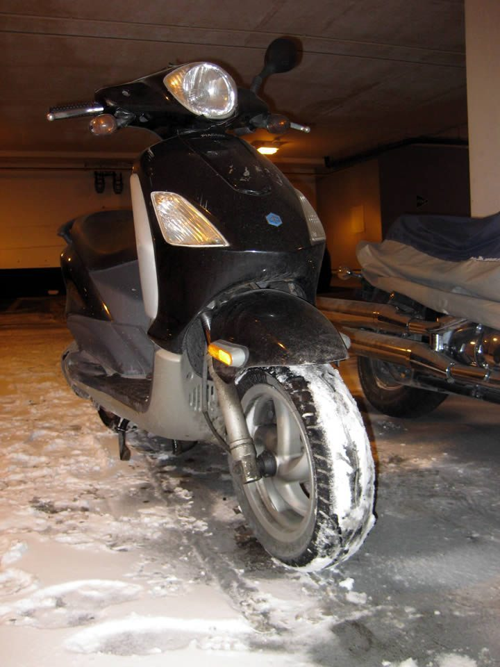 Piaggio Fly 150 Winter Scooter