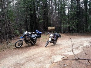 Plumas National Forest Motorcycle Ride