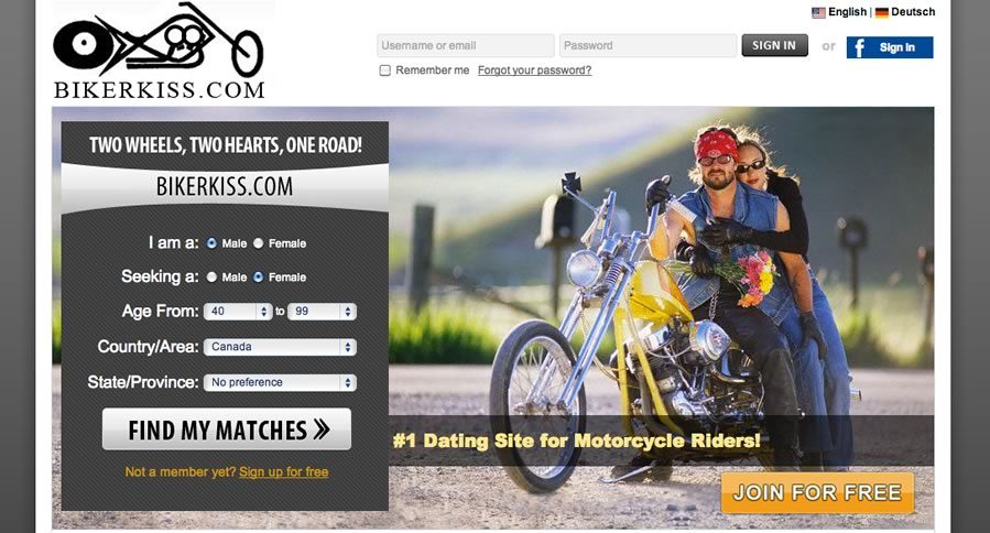 Motorcycle online dating