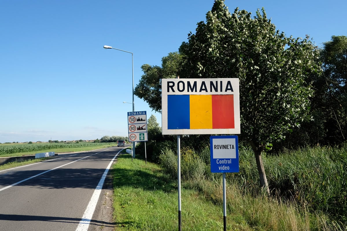 Romania, our most easterly country